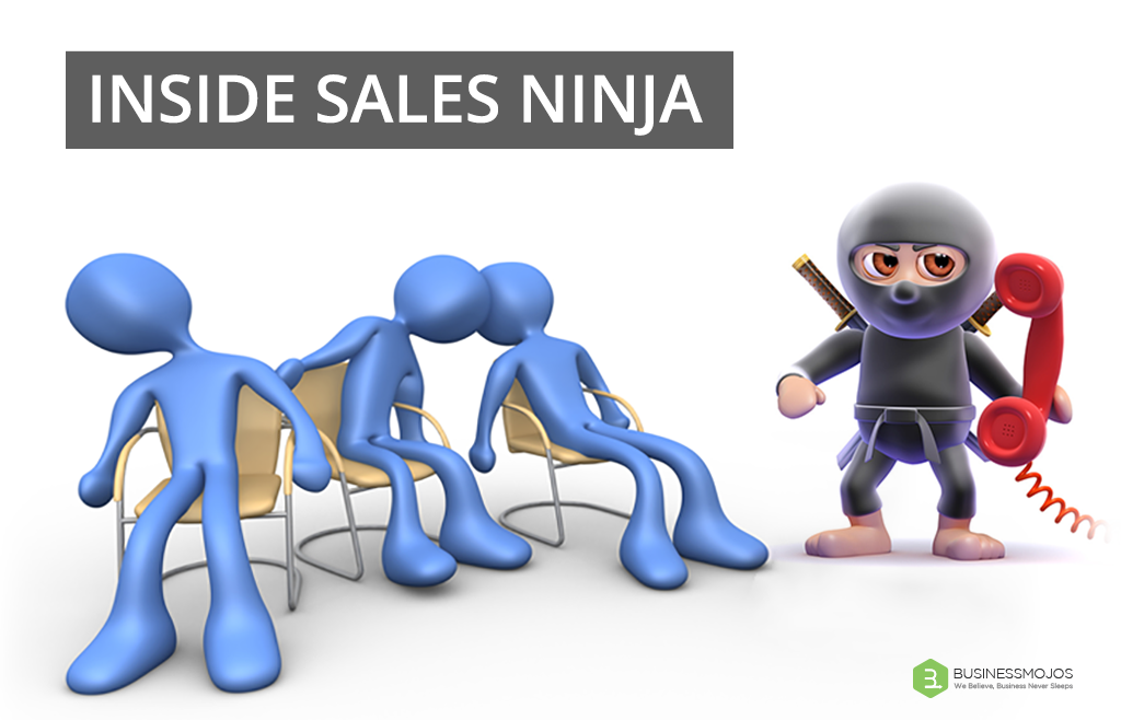 TO BECOME THE INSIDE SALES NINJA